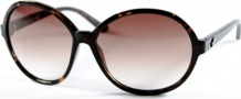 Kenneth Cole New York KC6072 Sunglasses Sunglasses - 52F Tortoise/Brownish Lens