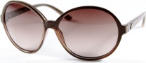 Kenneth Cole New York KC6072 Sunglasses Sunglasses - 57F Blush/Brown-Blush Lens