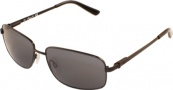 Kenneth Cole New York KC6091 Sunglasses Sunglasses - 02A Shiny Gunmetal/Grey Smoke Lens