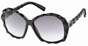 Swarovski SK0002 Sunglasses Sunglasses - 01B Black/Smoke Lens