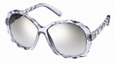 Swarovski SK0002 Sunglasses Sunglasses - 26V Transparent Grey/Smoke Lens