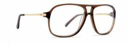 Von Zipper LMAO Eyeglasses Eyeglasses - Brown Translucent