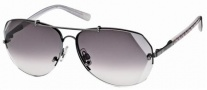 Swarovski SK0006 Sunglasses Sunglasses - 12B Grey/Smoke Lens