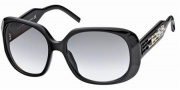Swarovski SK0008 Sunglasses Sunglasses - 01B Black/Smoke Lens