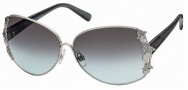Swarovski SK0010 Sunglasses Sunglasses - 016 Silver/Grey Gradient Lens