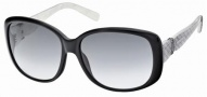 Swarovski SK0012 Sunglasses Sunglasses - 05B Black/Smoke Lens