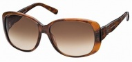 Swarovski SK0012 Sunglasses Sunglasses - 52F Havana/Brown Lens
