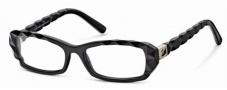 Swarovski SK5007 Eyeglasses Eyeglasses - 001 Black/Demo Lens