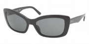 Prada PR 03NS Sunglasses Sunglasses - BF03M1 Top Mimetic Gray / Black Gray Gradient