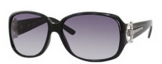 Gucci 3168 Sunglasses Sunglasses - OD28 Shiny Black (JJ Gray Shaded Lens