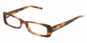 D&G DD 1158 Eyeglasses Eyeglasses - 677 Striped Havana / Demo Lens (only in 50-17)