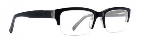 Von Zippper Elks Lodge Eyeglasses Eyeglasses - Black Smoke