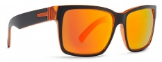 Von Zipper Smokeout Sunglasses- Limited Edition Sunglasses - Elmore's Timewarp Tangerine