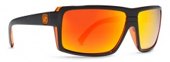 Von Zipper Smokeout Sunglasses- Limited Edition Sunglasses - Snark's Timewarp Tangerine