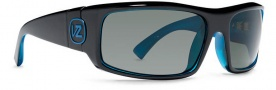 Von Zipper Smokeout Sunglasses- Limited Edition Sunglasses - Kickstand's Bogglegum Blue