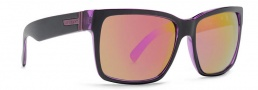 Von Zipper Smokeout Sunglasses- Limited Edition Sunglasses - Elmore's Purple Erkel