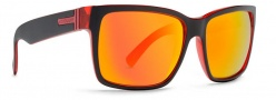 Von Zipper Smokeout Sunglasses- Limited Edition Sunglasses - Elmore's Couchlock Cherry
