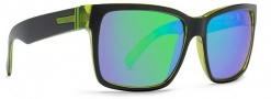 Von Zipper Smokeout Sunglasses- Limited Edition Sunglasses - Elmore's Lightsout Lime