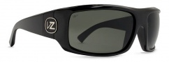Von Zipper Clutch Polarized Sunglasses Sunglasses - BML-Black Gloss / Grey Meloptics Polarized