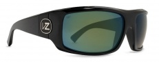 Von Zipper Clutch Polarized Sunglasses Sunglasses - BGP-Black Gloss / Grey Glass Polarized