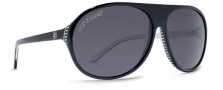 Von Zipper Rockford Sunglasses Sunglasses - BWL-Black White Replicator / Grey