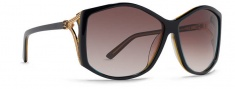 Von Zipper Rosebud Sunglasses Sunglasses - BKG-Black Clear / Grey