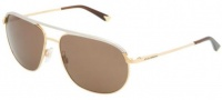 Dolce & Gabbana DG2092 Sunglasses Sunglasses - 034-73 Gold / Brown