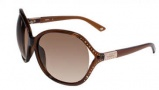 Bebe BB 7020 Sunglasses Sunglasses - Topaz / Brown Gradient 