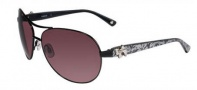 Bebe BB 7018 Sunglasses Sunglasses - Black Lace / Grey Gradient