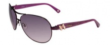 Bebe BB 7018 Sunglasses Sunglasses - Plum Lace / Plum Gradient