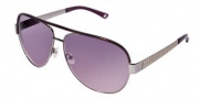 Bebe BB 7014 Sunglasses Sunglasses - Black Diamond / Mauve Gradient