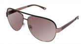 Bebe BB 7014 Sunglasses Sunglasses - Smoked Topaz / Brown Gradient