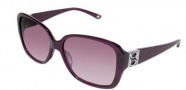 Bebe BB 7002 Sunglasses Sunglasses - Amethyst / Burgundy Gradient