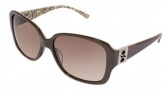 Bebe BB 7002 Sunglasses Sunglasses - Smoked Topaz / Brown Gradient