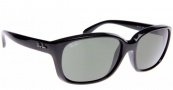 Ray-Ban RB4161 Sunglasses Sunglasses - 601/58 Black / Crystal Green Polarized