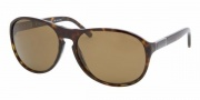 Bvlgari BV7010 Sunglasses Sunglasses - 504/57 Dark Havana / Crystal Brown Polarized