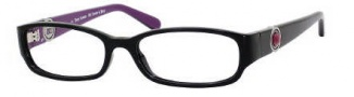 Juicy Couture Prestige Eyeglasses Eyeglasses - OETW Black / Purple