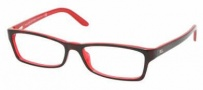 Ralph Lauren RL6049 Eyeglasses Eyeglasses - 5011 Black / Transparent Demo Lens