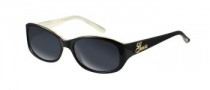 Guess GU 6404 Sunglasses Sunglasses - (BLKHRN-3) Black Frame & Grey Lens