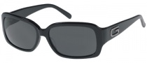 Guess GU 6446P Sunglasses Sunglasses - BLK-3: BLK / GREY LENS