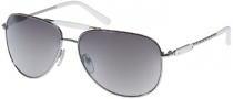 Guess GU 6501 Sunglasses Sunglasses - SI-35F: SI / GRY FLASH