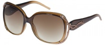 Guess GU 6527 Sunglasses Sunglasses - BRN-34: Brown / Brown Gradient