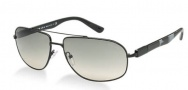 Prada PR 57NS Sunglasses Sunglasses - 1BO3M1 Matte Black / Crystal Gray Gradient