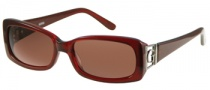 Guess GU 6530 Sunglasses Sunglasses - BU-17: Burgundy / Rose Lens