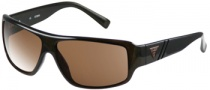 Guess GU 6556 Sunglasses Sunglasses - BRN-1: Brown / Brown Lens