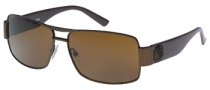 Guess GU 6560 Sunglasses Sunglasses - BRN-1: Brown / Brown Lens