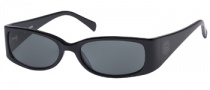 Guess GU 6573 Sunglasses Sunglasses - BLK-3: Black / Gray Lens