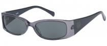 Guess GU 6573 Sunglasses Sunglasses - GRY-3: Gray / Gray Lens
