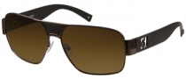 Guess GU 6608P Sunglasses Sunglasses - BRN-1: Shiny Brown