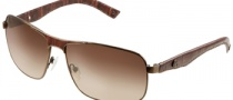 Guess GU 6616 Sunglasses Sunglasses - BRN-34: Brown